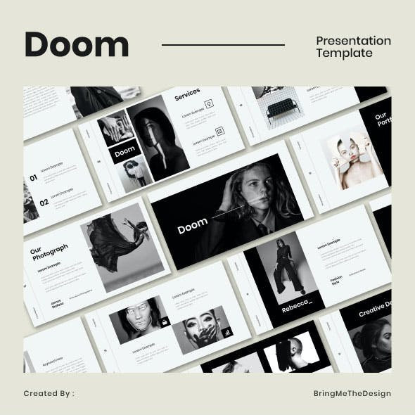 Doom Keynote Presentation Template