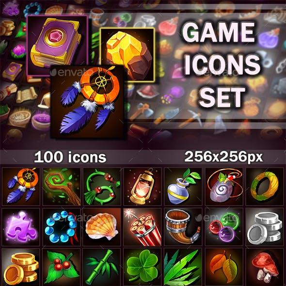 Game Icons Set Vol.1