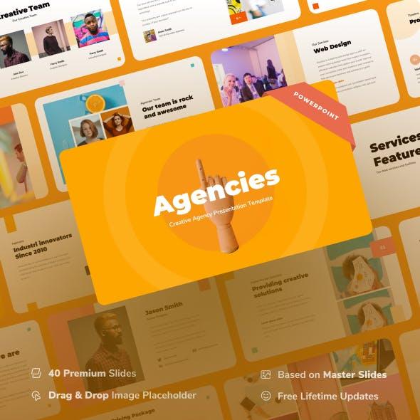 Agencies - Creative Agency Powerpoint Presentation