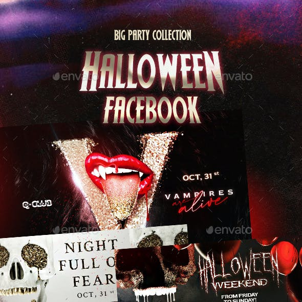 Halloween Facebook Cover