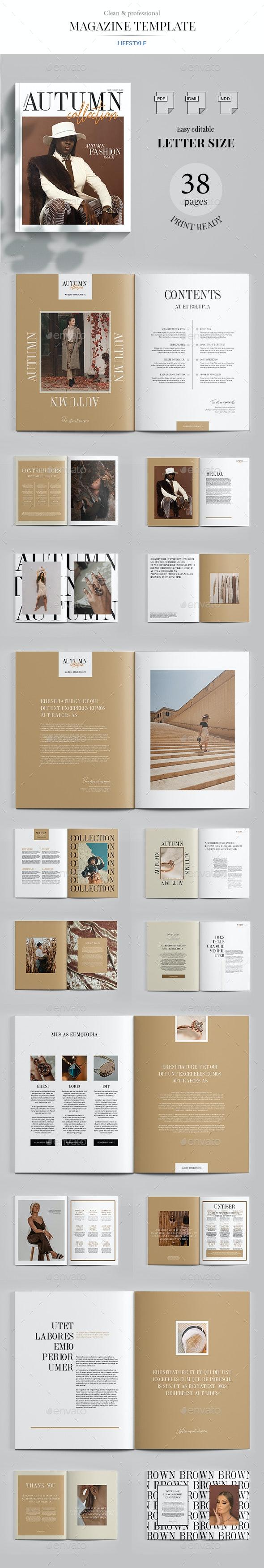 Autumn Collection - Magazines Print Templates