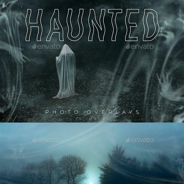 Haunted Photo Overlays