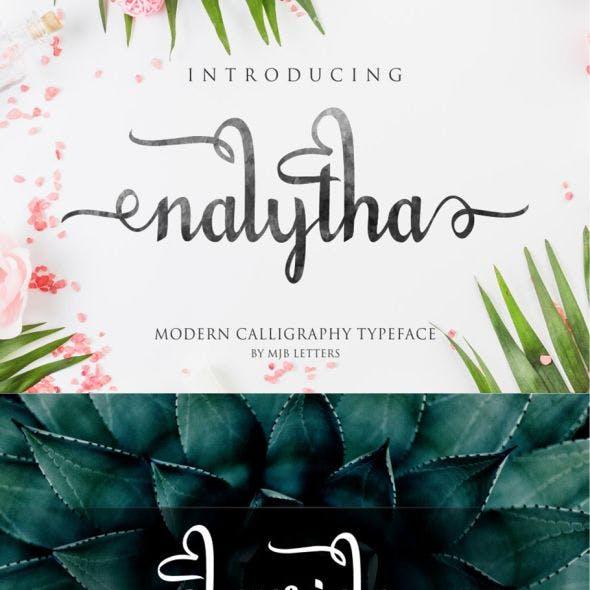 Nalytha Script Font