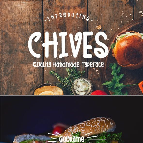 Chives Cute Font