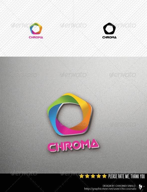 Chroma Logo Template - Abstract Logo Templates