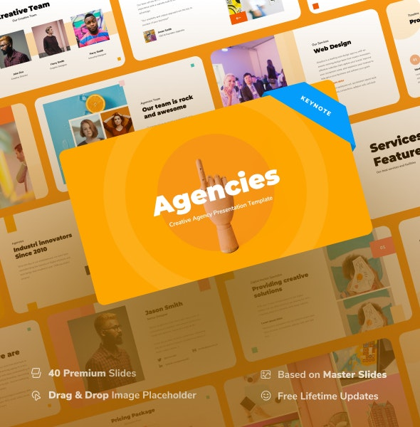 Agencies - Creative Agency Keynote Presentation - Creative Keynote Templates