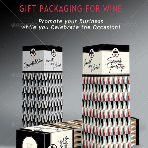 Wine & Liquor; Gift Presentation Box