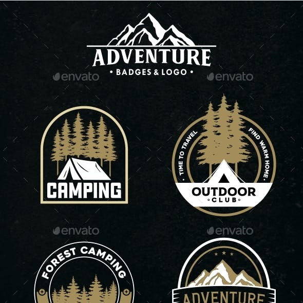 Adventure Badges & Logo Vol 3