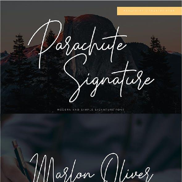 Parachute Signature