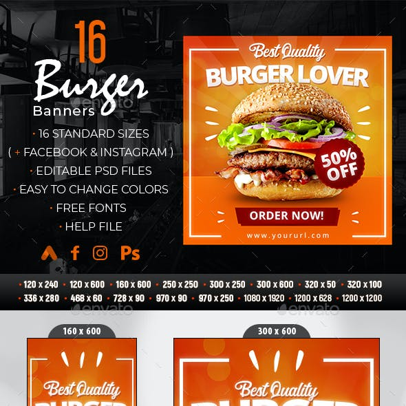 Burger Banners