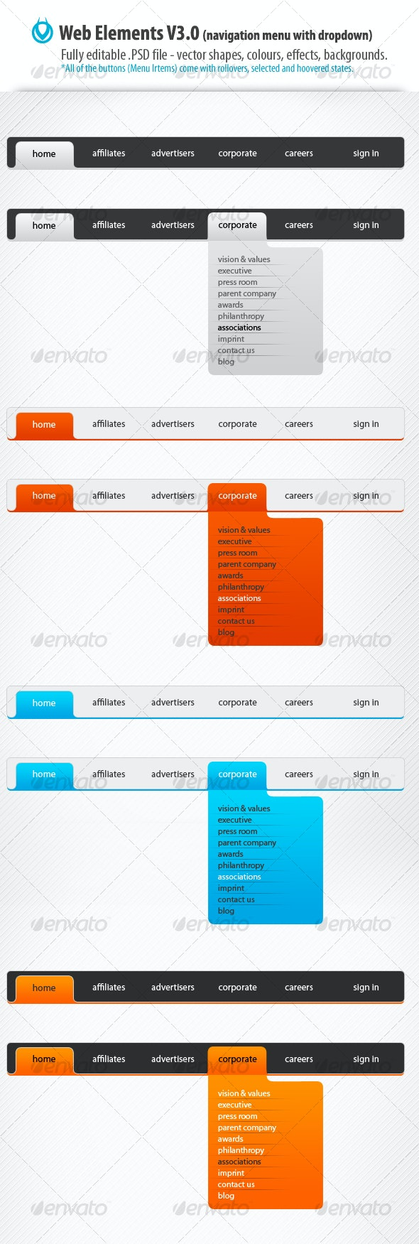Web Elements v3.0 by VO - Web Elements