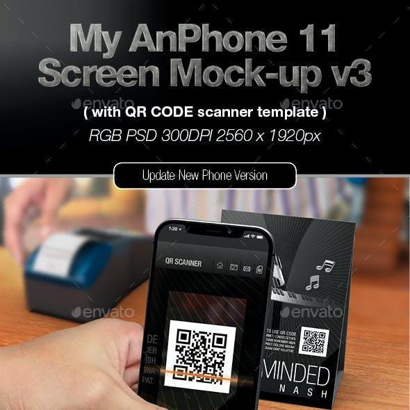 My AnPhone 11 Screen Mock-up v3