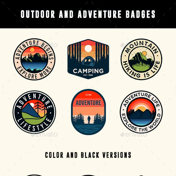 Outdoor and Adventure Badges