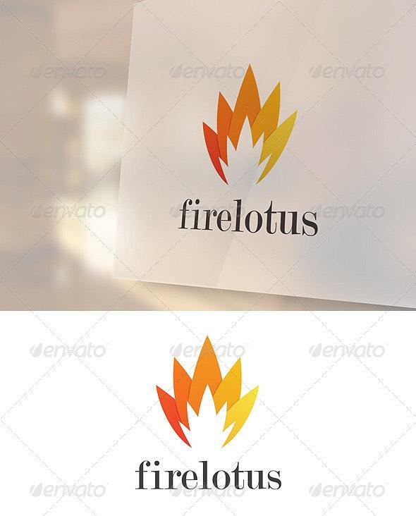 Firelotus Logo Template - Abstract Logo Templates