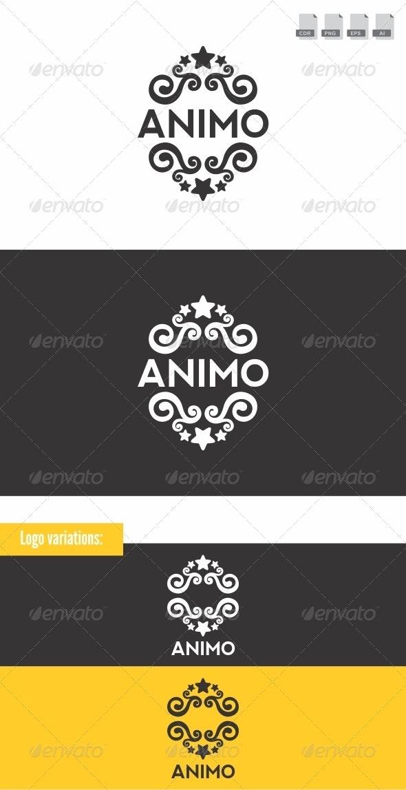 Animo - Crest Logo - Crests Logo Templates