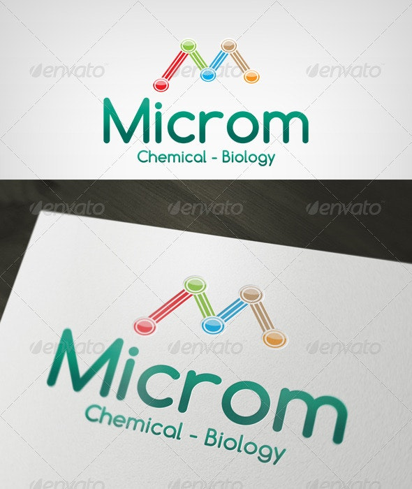 Microm Logo - Letters Logo Templates