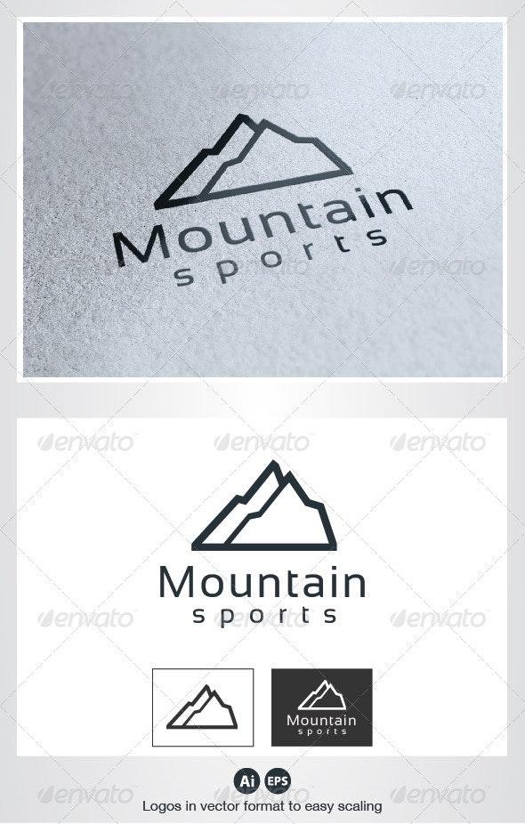 Mountain Sports Logo - Nature Logo Templates
