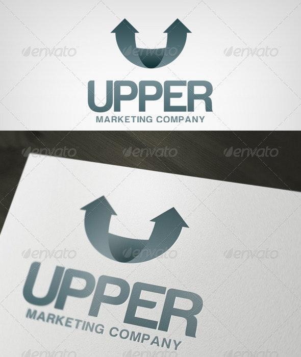 Upper Logo - Letters Logo Templates