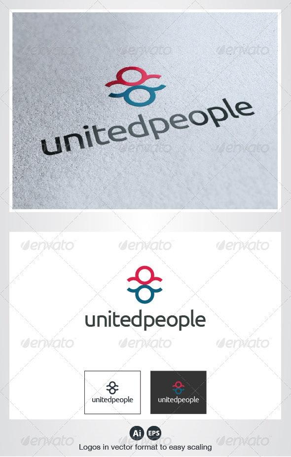 United People Logo - Humans Logo Templates