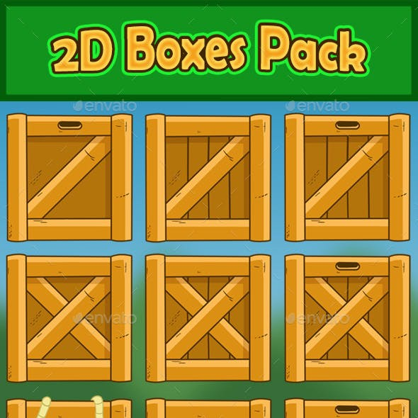 2D Boxes Pack