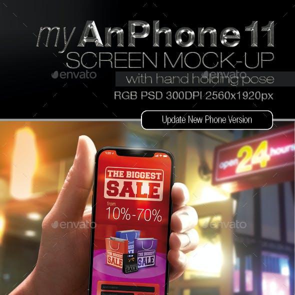 Iphone 11 Screen Mock-up v1