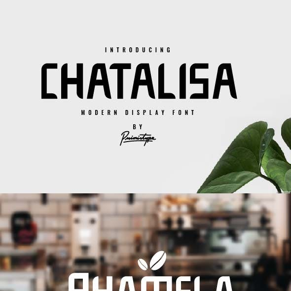 Chatalisa - Modern Display Font