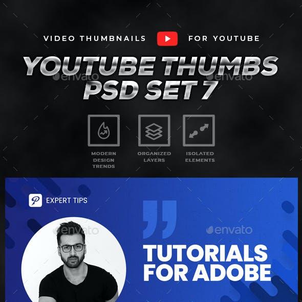 Youtube Thumbnail Templates - 5 in 1
