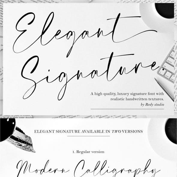 Elegant Signature