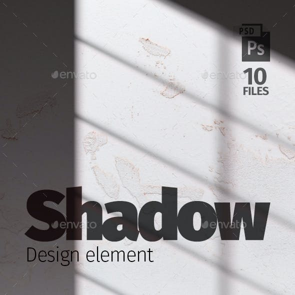 Shadow Overlays. Design Elements