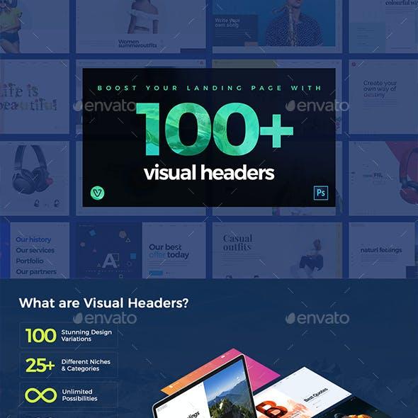100 Hero Website Headers