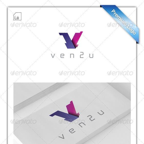 Letter V Logo - Venture Capital Logo - Tech Logo