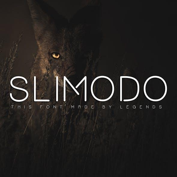 SLIMODO Font