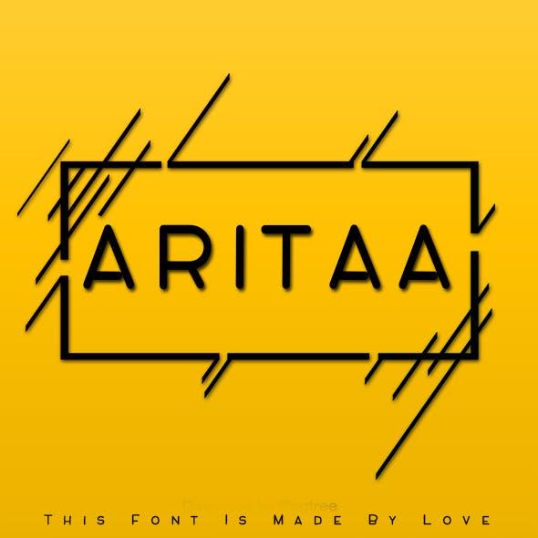 ARITAA Font