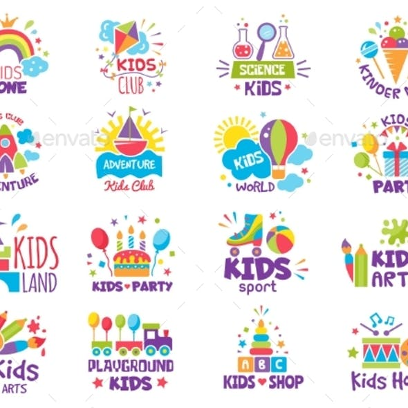 Kids Zone Badges