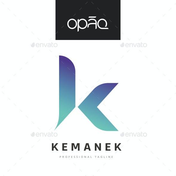 Stylized K Letter  Logo