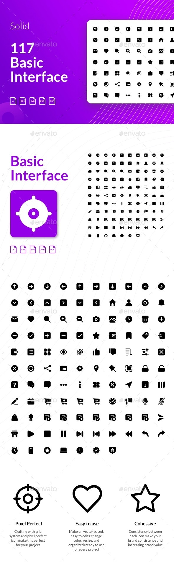 Basic Interface Icon - Glyph - Web Icons