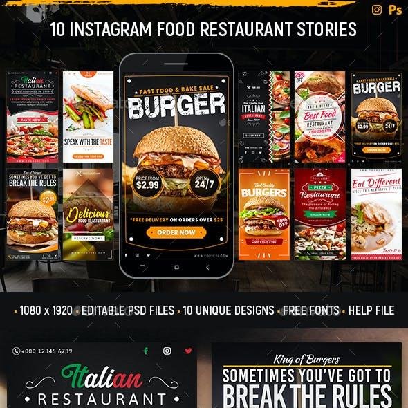 Instagram Food Restaurant Stories