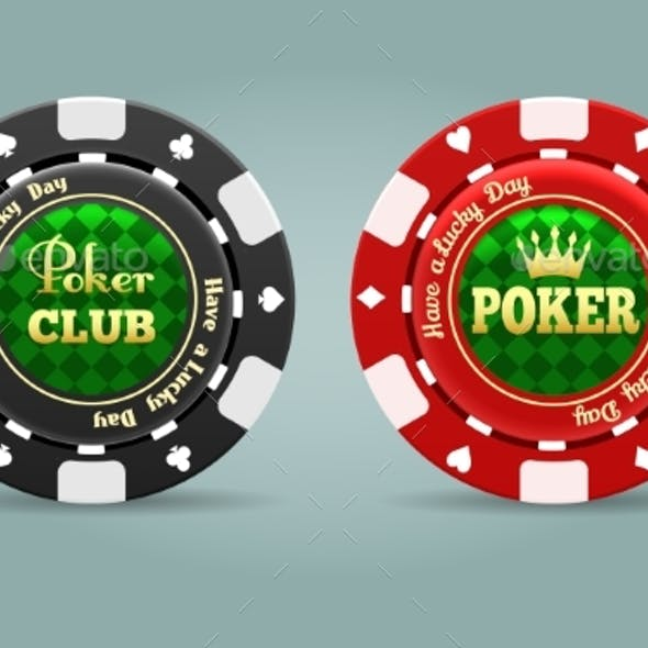 Realistic Poker Chips