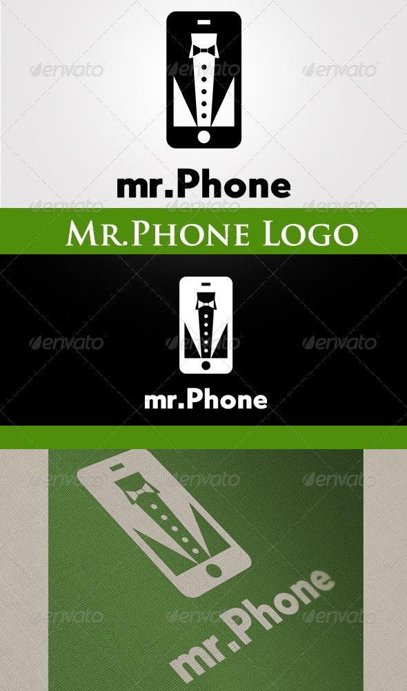 Mr.Phone Logo - Crests Logo Templates