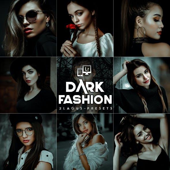 Dark - Black Portrait  Lightroom Presets