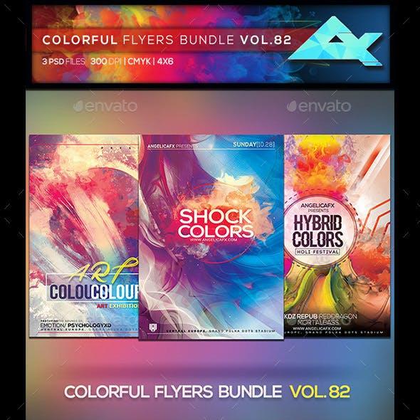Colorful Flyers Bundle Vol. 82