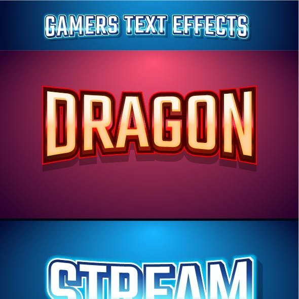 Gaming Logo Text Effect