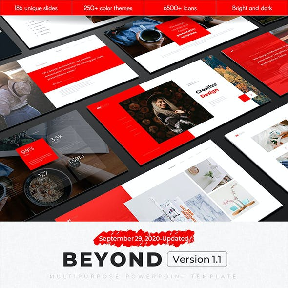 Beyond Multipurpose PowerPoint Template v1.1