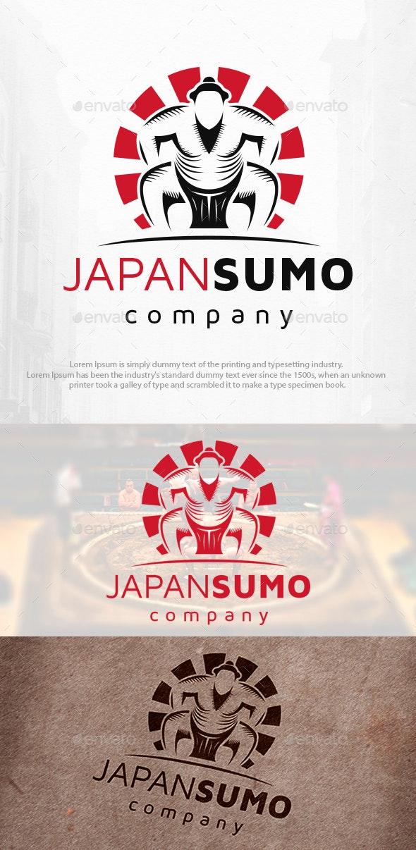 Sumo Fighter Logo Template - Humans Logo Templates