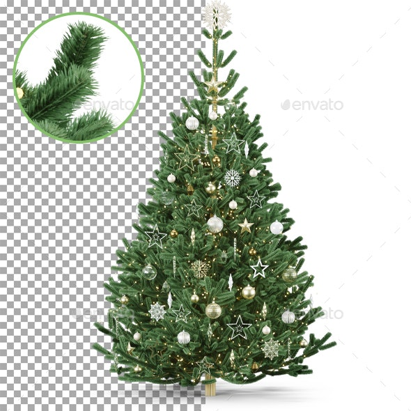 Christmas Tree - Objects 3D Renders