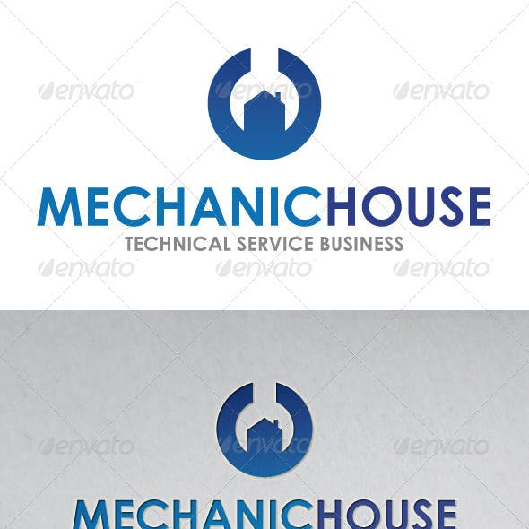 Mechanic House Logo