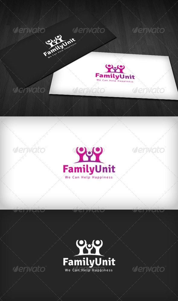 Family Unit Logo - Humans Logo Templates