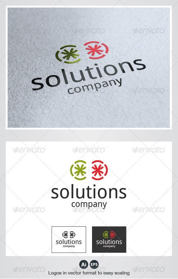 Solutions Logo - Symbols Logo Templates
