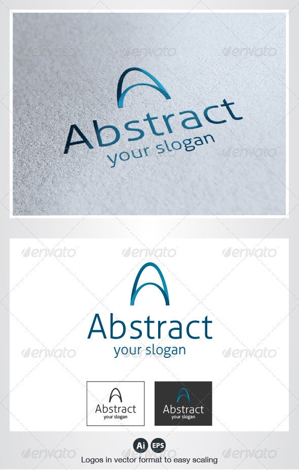 Abstract A Letter Logo - Letters Logo Templates