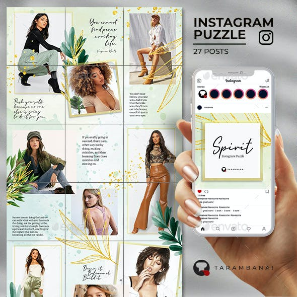Spirit - Instagram Puzzle Feed